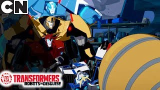 Transformers: Robots in Disguise | The Sphere | Cartoon Network
