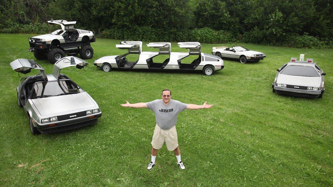 画像: Man Transforms 'Back To The Future' Cars Into Bizarre Creations youtu.be