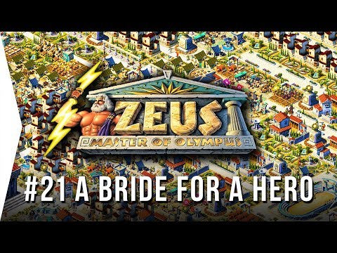Zeus ► Mission 21 A Bride For A Hero - [1080p Widescreen] - Master Of Olympus City-building!