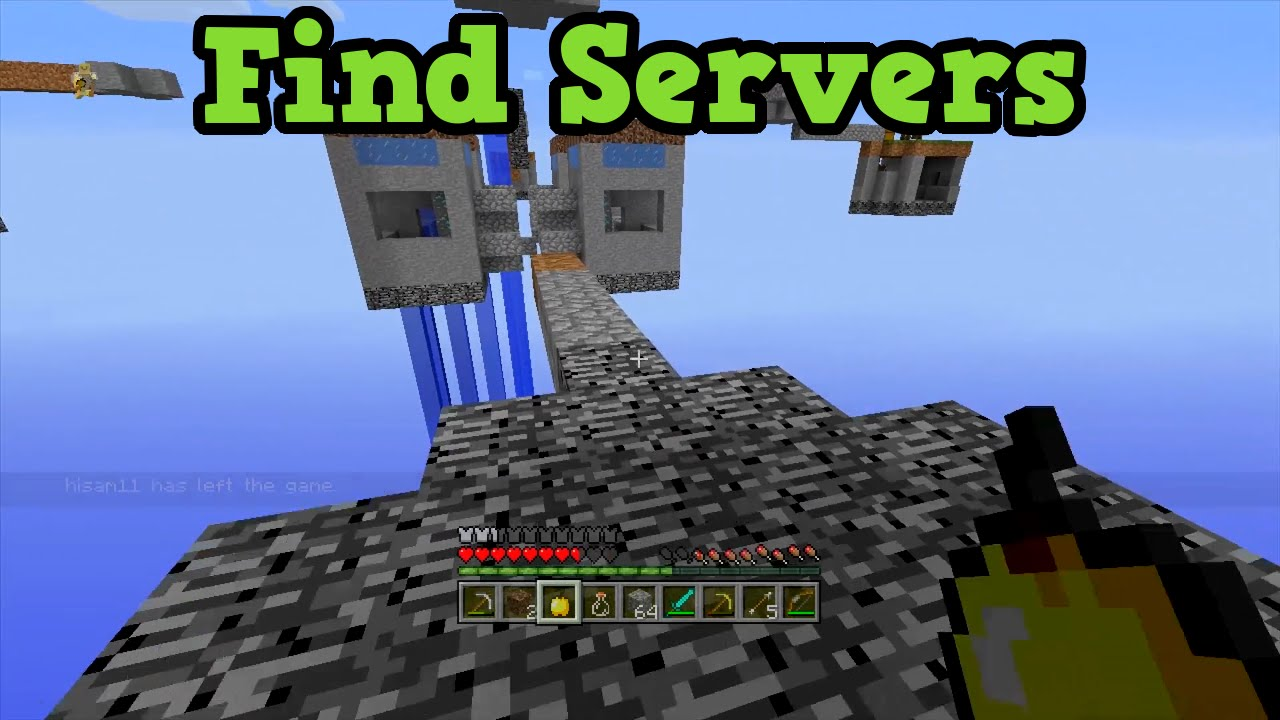 Minecraft Xbox 12 + PS12: SERVERS - Find & Play With New People