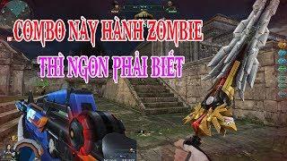 Kết Hợp M4A1 Knight Và Kiếm Super Hero Săn Zombie - Truy Kích Showbiz