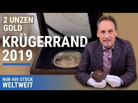 2 UNZEN GOLD KRÜGERRAND 2019   NUR 400 STÜCK