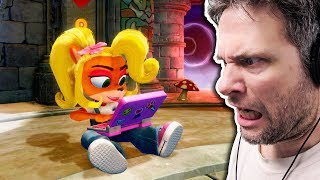 Crash Bandicoot Remastered #2 INSANAMENTE DIFÍCIL (Gameplay em Português PT-BR)