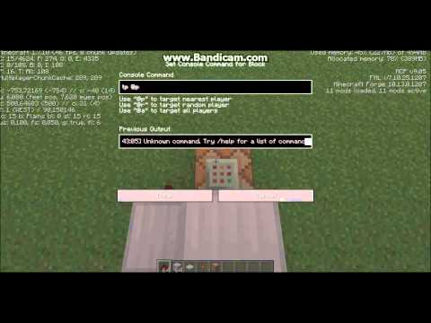 how to make command command block work