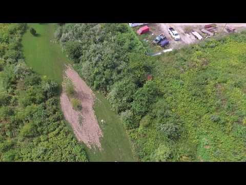 Area 51 Disc Golf Course Aerial Flyby