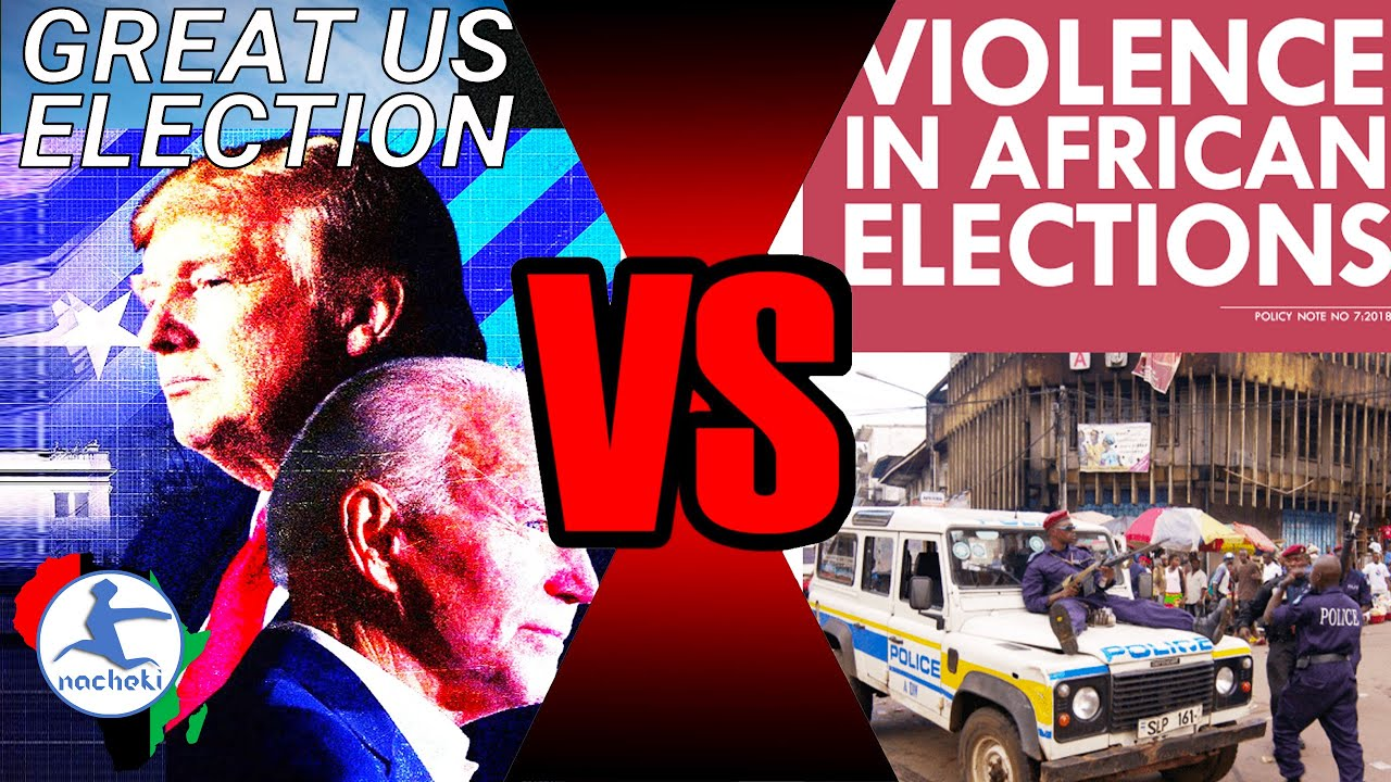 Shameful Western Media Bias on US Election vs African Elections Reporting