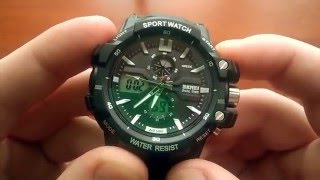 Налаштування годинника Skmei Dual Time 0990