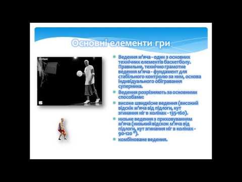 Презентація на тему: Баскетбол