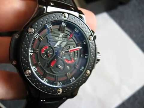130f8f5778f Hublot F1 - YouTube