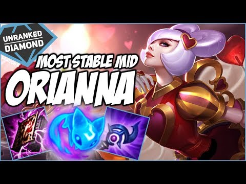 ORIANNA, THE MOST STABLE MID? - Unranked to Diamond - Ep. 36 | League of Legends