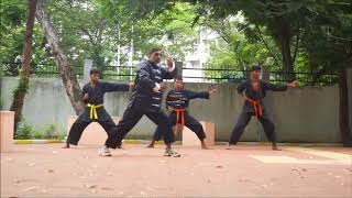 Kung fu Online Training in Hindi - part 1