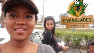 Everglades airboat tour worth it?/ My sister got slapped/ Don