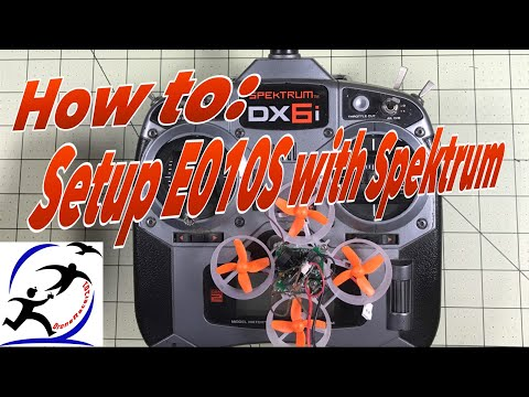 How to setup the Eachine E010S with a Spektrum DX6i, Binding and Cleanflight Config