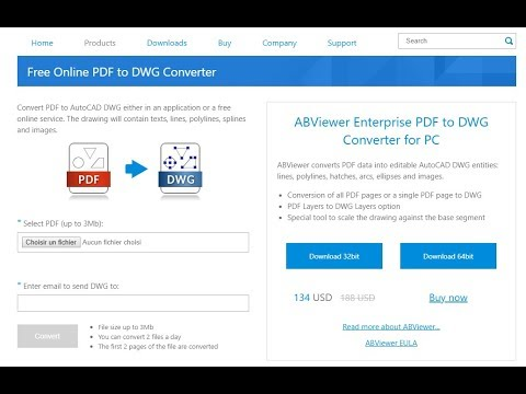 PDF to DWG Converter for Free - CADSoftTools