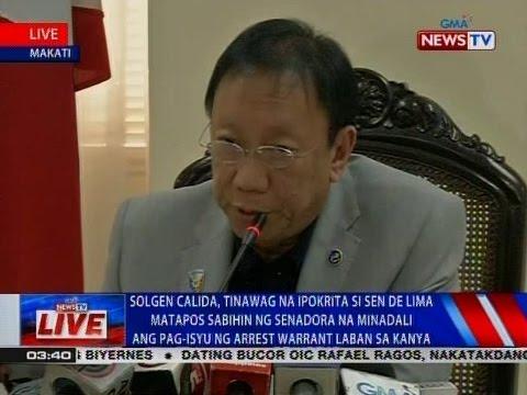 NTVL: Press conference ni Solicitor General Jose Calida