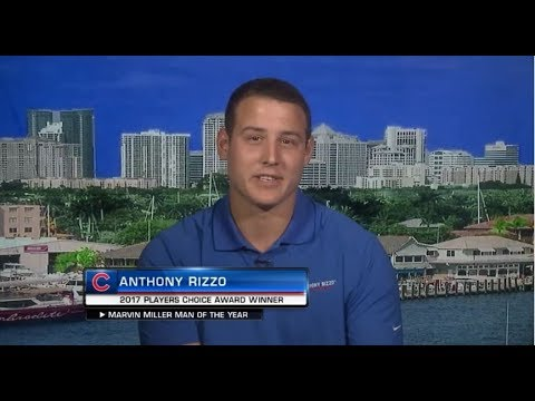 2017 Marvin Miller Man of the Year   Anthony Rizzo