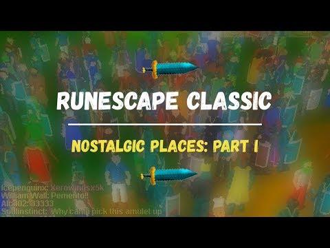 Runescape Classic Nostalgic Places Rsc