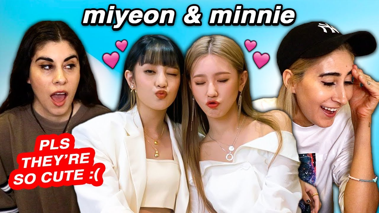 Miyeon and Minnie Girlfriend Moments ☹️💕 (G)I-DLE Mimin