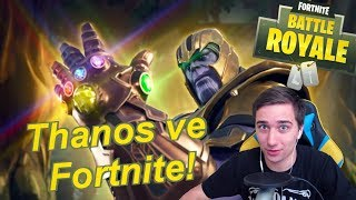 Thanos ve Fortnite! Bojím se 😅! | Infinity Gauntlet | Jakub Destro Fortnite CZ/SK