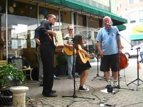 Sadie jamming with John Finnegan  Parents Who Rock 511