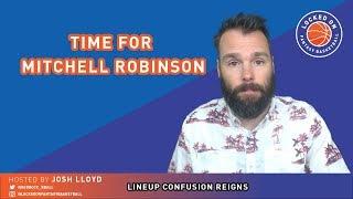 NBA FANTASY | Weird Rotations, Mitchell Robinson Explodes