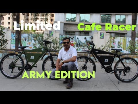 Army Edition Electric cycle by 29 motors