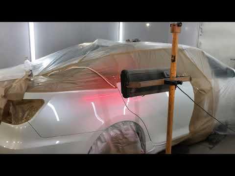 Покраска Toyota Camry в Краснодаре STUTTGART качественно и в срок