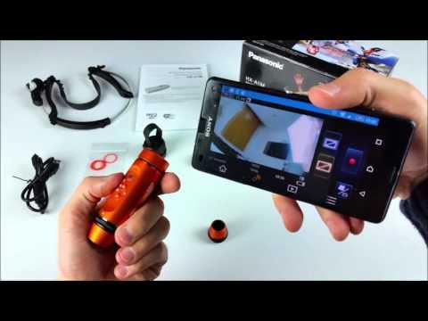 Recenzja Panasonic HX-A1M Kamera Sportowa | MediaTester