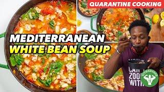 My Quarantine Bday & Mediterranean Diet Turkey & White Bean Soup