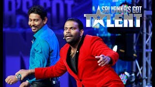Hannibal the Magic Warrior with T M Dilshan   Sri Lanka
