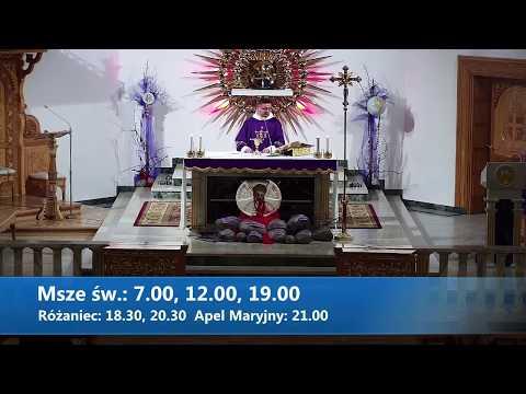 Msza Święta (16.03.2020) - Sanktuarium Matki Bożej Fatimskiej / Zakopane