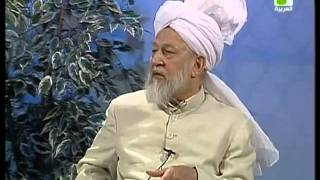 Liqa Ma'al Arab 4 June 1998 Question/Answer English/Arabic Islam Ahmadiyya