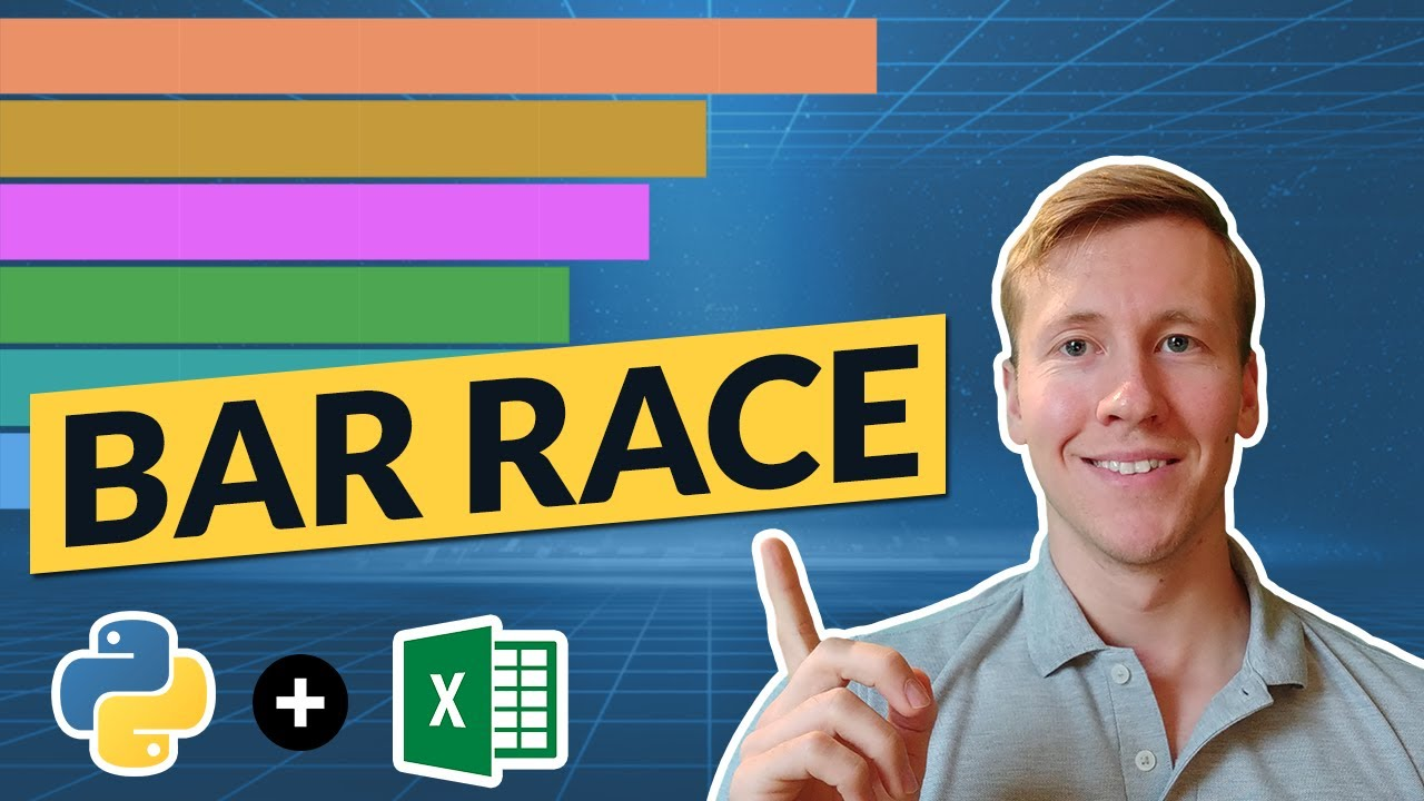 How To Create A Bar Race Animation Using Excel And Python