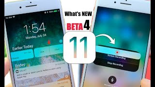 iOS 11 Beta 4 is out What's New ? New Features & Changes