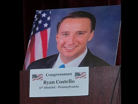 Rep. Ryan Costello (PA-06) Town Hall