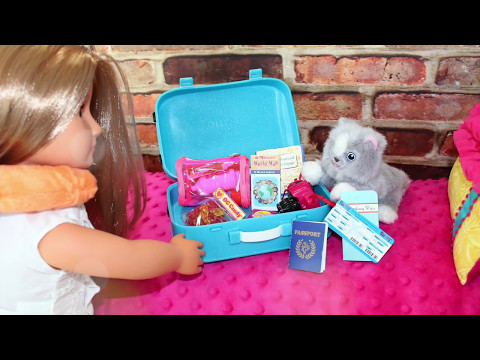 American Girl Doll Luggage & Travel Playset Review