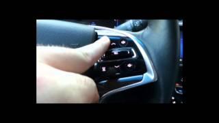 CUE Tutorial: Steering Wheel Features
