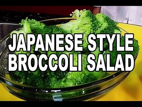 Sesame Broccoli Salad With Tuna