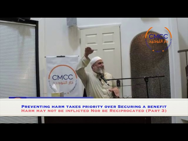 Preventing harm takes priority over Securing a benefit