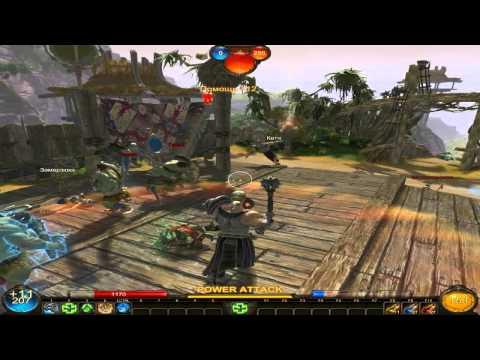 видео: panzar. Игра Паладином 8 лвл.