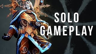 Smite Chronos Solo Gameplay