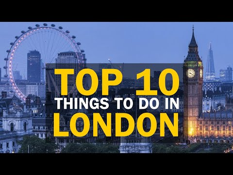 TOP 10 Things to do in London for 2020 (Top Attractions You Have to do in London with Kids)