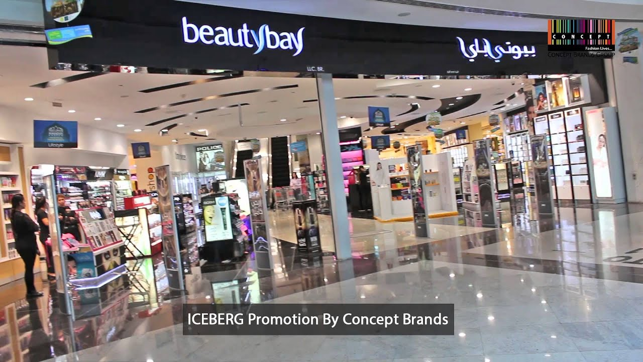 Iceberg Promotion In Beauty Bay By Concept Brands Group In