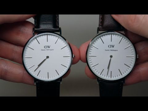 224945489bbf29 DANIEL WELLINGTON FAKE AND REAL WATCH REVIEW COMPARISON - YouTube