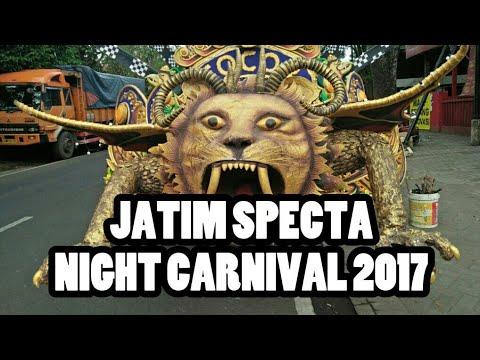 Jatim Specta Night Carnival 2017 ke 4 di Malang