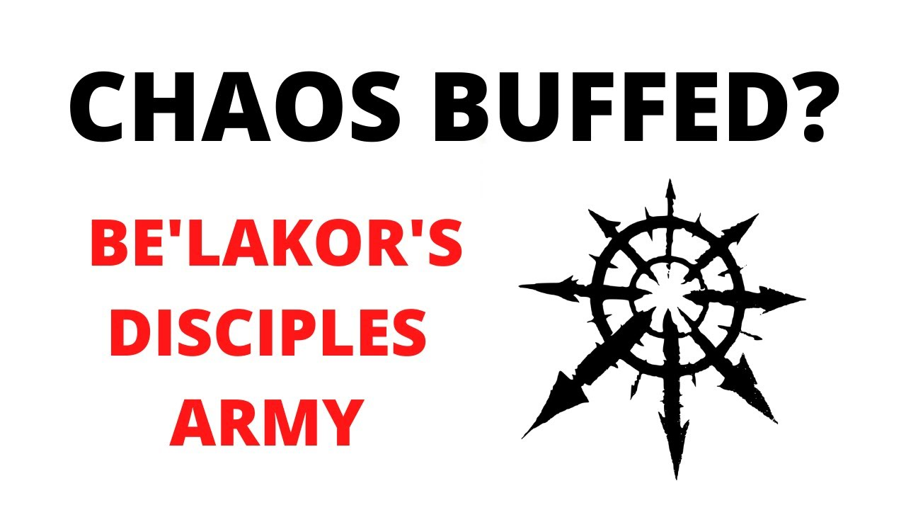 The Chaos Undivided Army! Be'Lakor's Disciples Rules from Warzone Charadon 2, the Book of Fire
