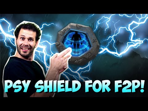 JT's F2P: Level 8 Psysheild Insignia LETS GO!