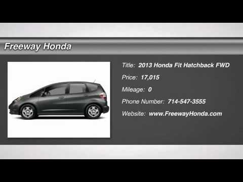 2013 HONDA FIT Santa Ana, CA 00714234