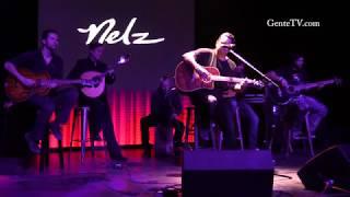 "NELZ playing live an original tune ""Toca guitarra do meu país"""