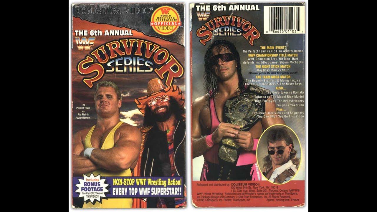 Kết quả hình ảnh cho WWE Survivor Series 1992